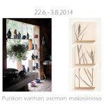 Näyttelyjuliste Putikon Saviseppä 2014