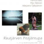 Rautjärven Pitäjäntuvan näyttelyjuliste 2014
