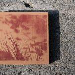Sarjasta Paikkani, 30x30cm, punasavi, litografia_2013