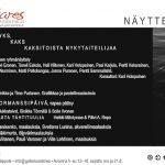 Taidekeskus Antareksen kesän 2014 ilmoitus TAIDE-lehteen