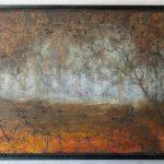 Syystunnelma, öljy, 53x72cm, 2017