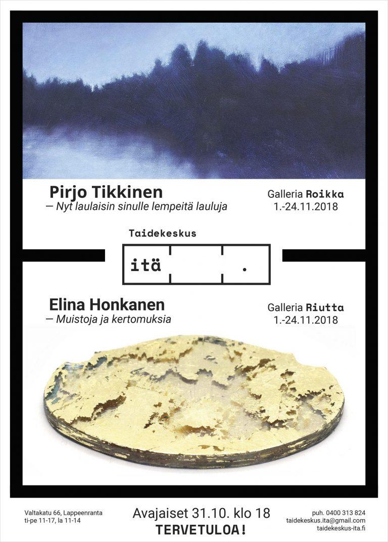 Juliste Taidekeskus Itä/Galleria Roikka